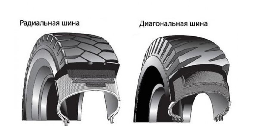 Сравнение диагональных и радиальных покрышек для спецтехники: что выбрать?